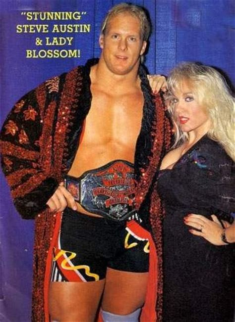 """""""Stunning"""" Steve Austin & his former wife/ manager Lady"""