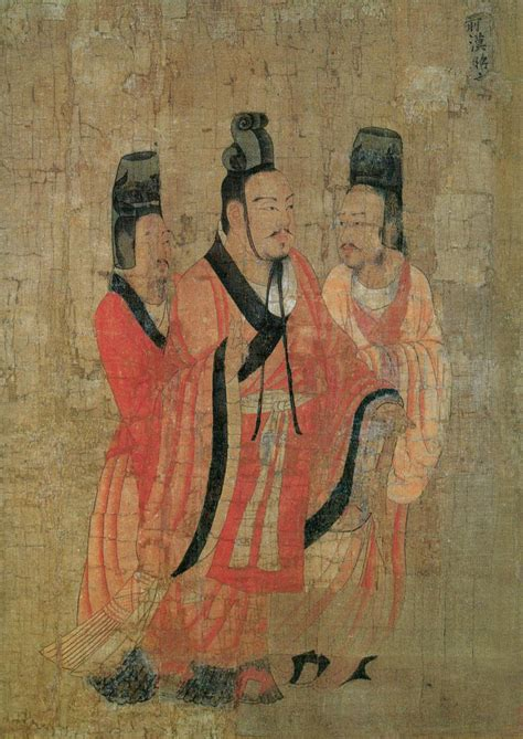 Thirteen Emperors Scroll - Wikimedia Commons