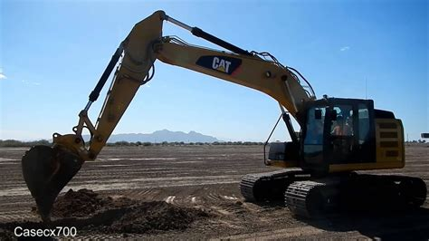 Testing Out a New CAT 320E Excavator - YouTube