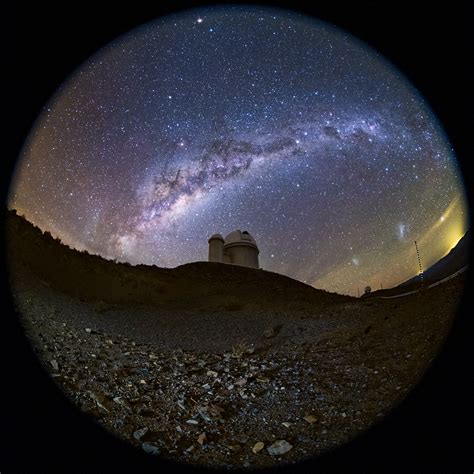A fish-eye view of the ESO 3