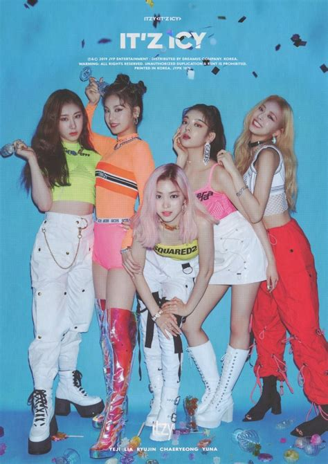ITZY ITZ ICY ALBUM / $2 ADD ON PER POSTER – Kpop USA