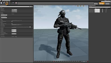 Unreal Engine | Infiltrator デモ